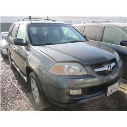 ACURA MDX 2006 APP  DUP/T-DON