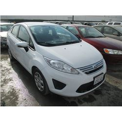 FORD FIESTA 2013 T-DONATION