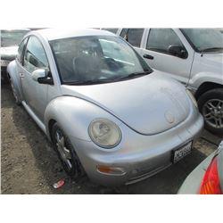VW BEETLE 2003 T-DONATION