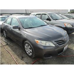 TOYOTA CAMRY 2011 T-DONATION