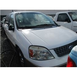 FORD FREESTYLE 2004 T-DONATION
