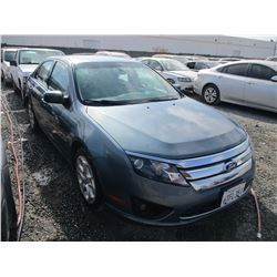 FORD FUSION 2011 T-DONATION