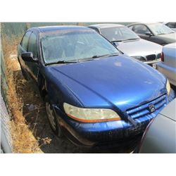 HONDA ACCORD 2001 SALV T/DONATION