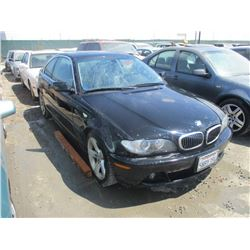 BMW 325CI 2005 T-DONATION