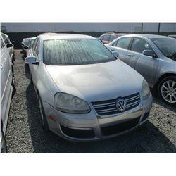 VW JETTA 2007 O/S-TITLE
