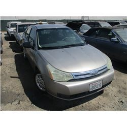 FORD FOCUS 2008 T-DONATION