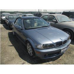 BMW 325CI 2002 T