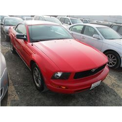 FORD MUSTANG 2005 T-DONATION