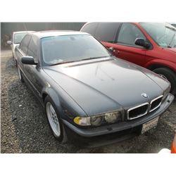 BMW 740I 2001 T-DONATION