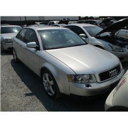 AUDI A4 2002 T