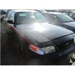 FORD CROWN VICTORIA 2009 T-DON/PRIOR POLICE
