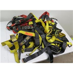 Multiple Guardian Fall Protection Canvas Harness Straps & Fittings