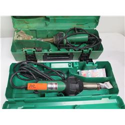 Qty 2 Leister RoofMaster Tools Triac ST 120V/1600W Model 141.228