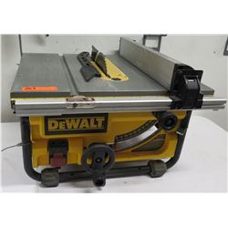 "DeWalt 10"" Compact Jobsite Table Saw Model DW745"