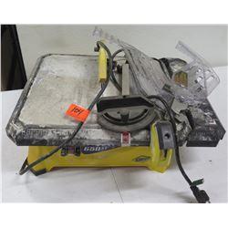 QEP 650XT Wet Tile Saw 3/4HP 120V Model 22650Q