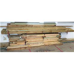 Rack Misc Length & Size Wood Lumber