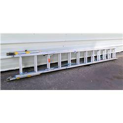 Werner EverLevel System Equalizer Extension Ladder 24'/250lbs  Model D1824-2EQ