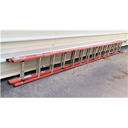 Werner Extra Heavy Duty Extension Ladder 28'/300lbs Model D6228-2