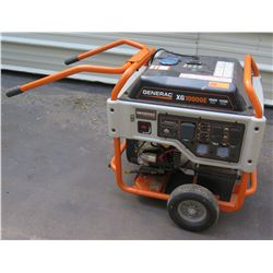 Generac XG10000E Portable 10,000 Watt Generator w/ OHVI Engine (Runs, Needs Oil)