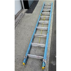 Werner Extra Heavy Duty Blue Extension Ladder