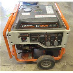 Generac XG10000E Portable 10,000 Watt Generator w/ OHVI Engine (attempted to start, did not start)
