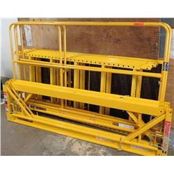 MetalTech Yellow Job Site SafeClimb Scaffold