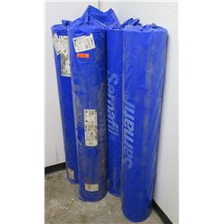 Qty 5 Rolls Sarnafil 60 Mil 5'x100' Coverstrip Single Ply Roofing Membrane