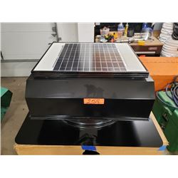 Solar Roof Vent in Box (Marked 'Demo')