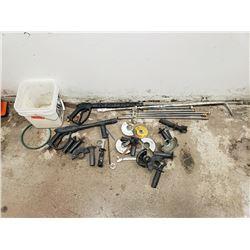 Misc. Parts: Pressure Washer Wands, Grinder Guards, etc