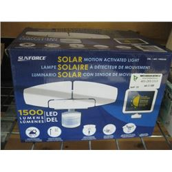SUNFORCE SOLAR MOTION ACTIVATED LIGHT