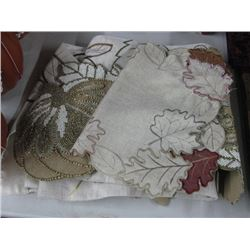 ASSORTED LEAF PLACEMATS