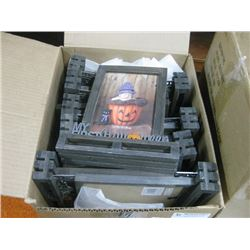 BOX OF ASSORTED HALLOWEEN PICTURE FRAMES