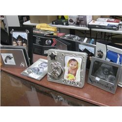 ASSORTED PHOTO FRAMES AND ALBUMS