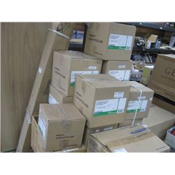 BOXES OF RECESSED DOWNLIGHT FIXTURES