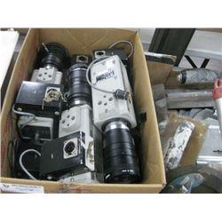 BOX OF CCTV CAMERA