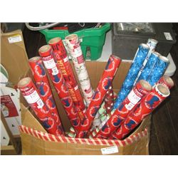 CASE OF WRAPPING PAPER
