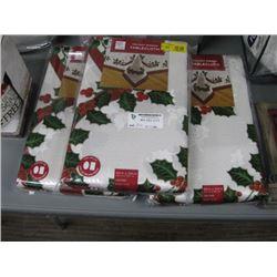 SET OF 3 CHRISTMAS TABLECLOTHS