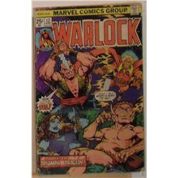 Marvel Comics Warlock Volume 1 #12 April 1976 - bande dessinée