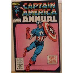 Marvel Comics Captain America Annual #7 1983 40+ pages - bande dessinée