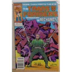 Marvel Comics Transformers + introducing The Mechanic Vol 1 #26 March 1987 - bande dessinée