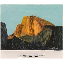 Half Dome Oil on Canvas  (120925)