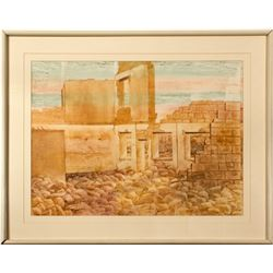 Broken Promise Painting by Nevada Artist Ruth Hilts  (121490)