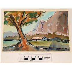 Segerblom Watercolor Spring Mountain Ranch  (120874)