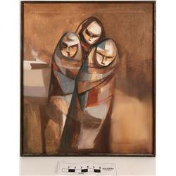Patrick Swazo Painting  (121482)