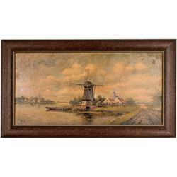 Oil Painting by H. Sander  (121258)