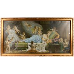 Oil Painting Print, Large  (120928)