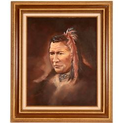 Portrait of Native American by Hanson  (120816)