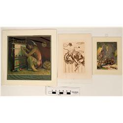 Native American and Cowboy Art Prints  (118916)