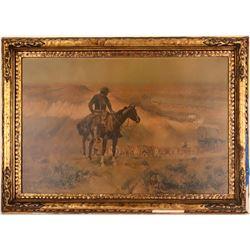 "Russell Print of ""Wagon Boss""  (121241)"