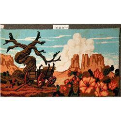 Desert Scene Area Rug  (122721)